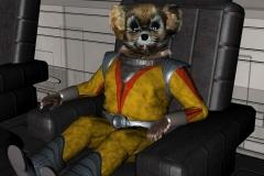 Der Mausbiber Gucky ist natürlich mit von der Partie.  (C) Raimund Peter