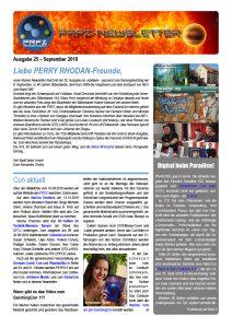 PRFZ-Newsletter 25, erste Seite