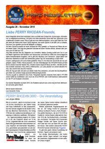 PRFZ-Newsletter 26, erste Seite