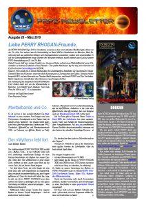 PRFZ-Newsletter 28, erste Seite