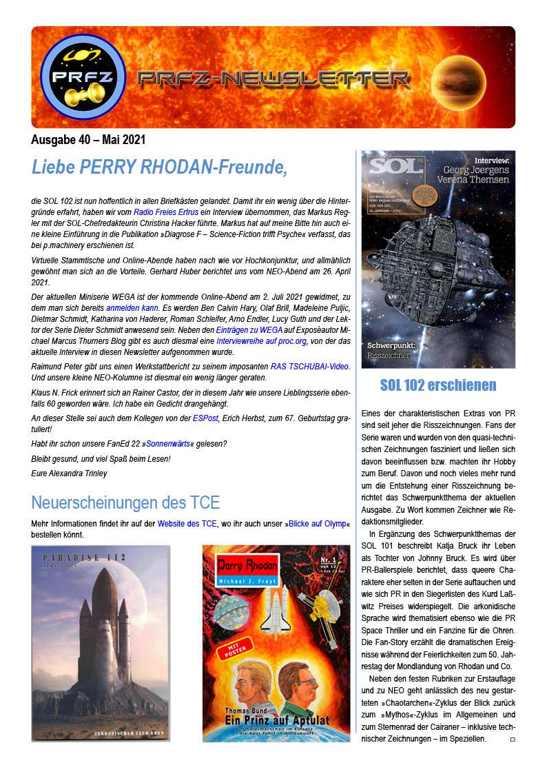 Newsletter 40 Seite 1