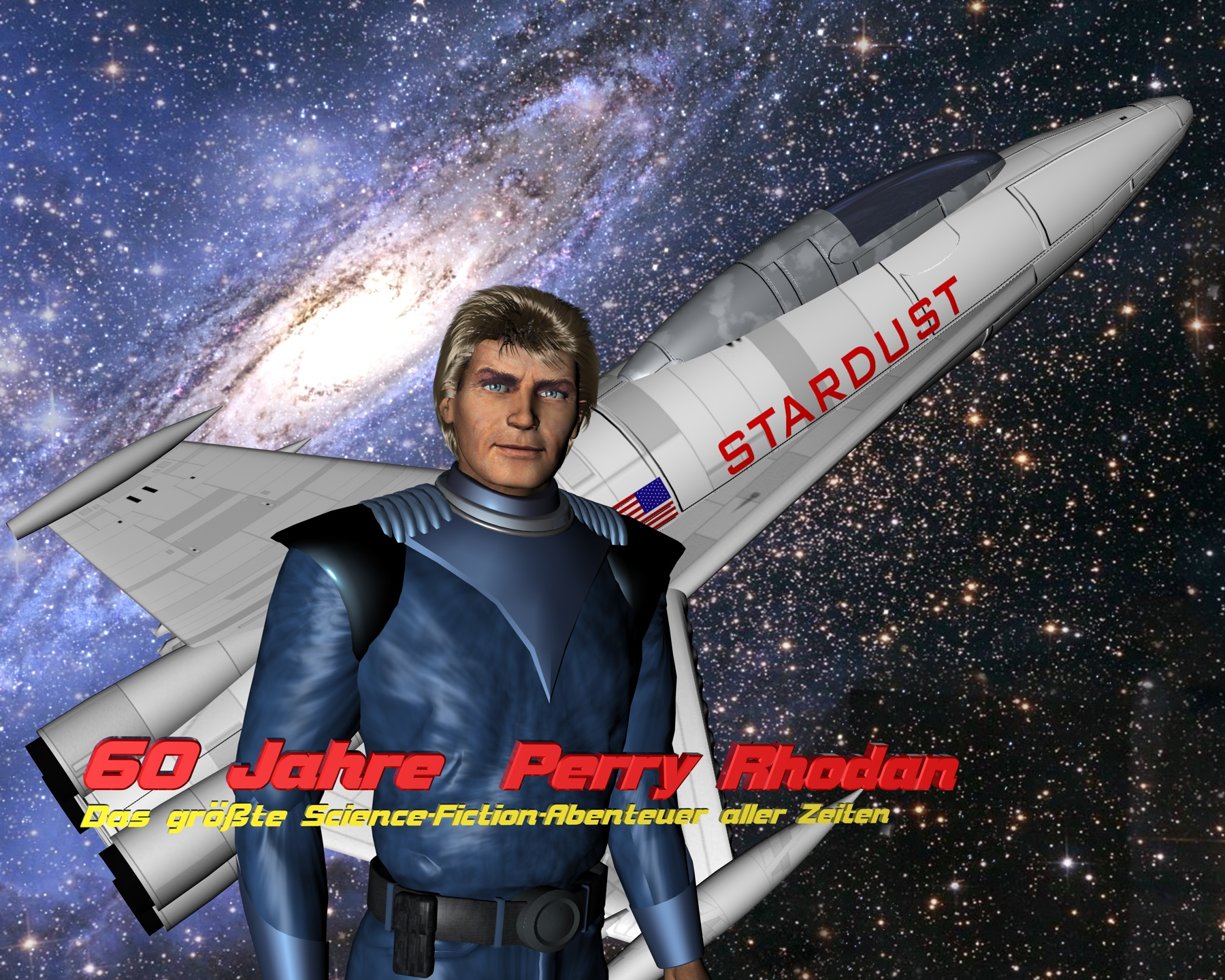 60 Jahre PERRY RHODAN Tribut Stardust – © Raimund Peter
