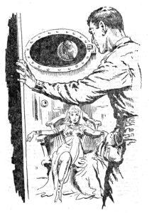Innenillustration Perry Rhodan Erstauflage Heft 1 © Pabel-Moewig Verlag